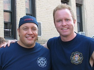 Paul Wissel and Kevin James